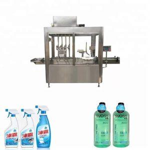 304 ruostumattomasta teräksestä valmistettu muovipullojen täyttö- ja korkkikone