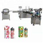 5-35 pulloa / min automaattinen nestemäyttöinen kone 10ml / 30ml lasipullo tiputtajalle