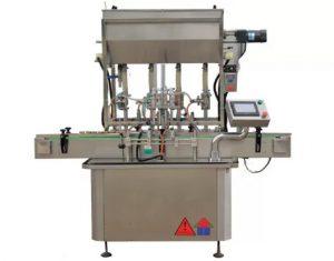 CE-standardikastikepastapullojen täyttökone