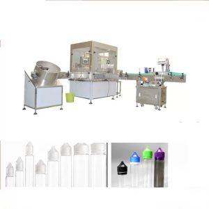 Elektroninen nesteitäyttöinen kone Siemensin kosketusnäyttöliittymällä