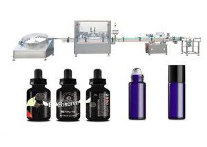 Lääketieteelliset eteeriset öljyt täyttö kone