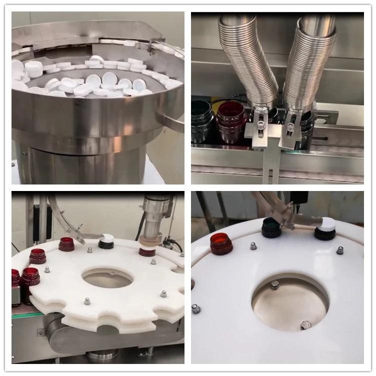 NP-SL60 kaksoispäät laskevat pillerit konepullotettu kapselitäyte