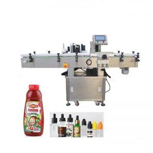 Pyöreiden tuotteiden pakkaus- ja etiketöintikone