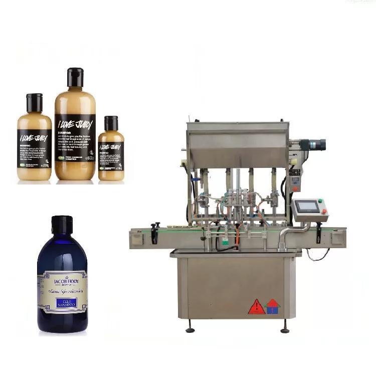 Askelmoottorilasipullojen täyttökone